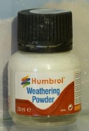 Humbrol AV0002 White weathering powder - reduced